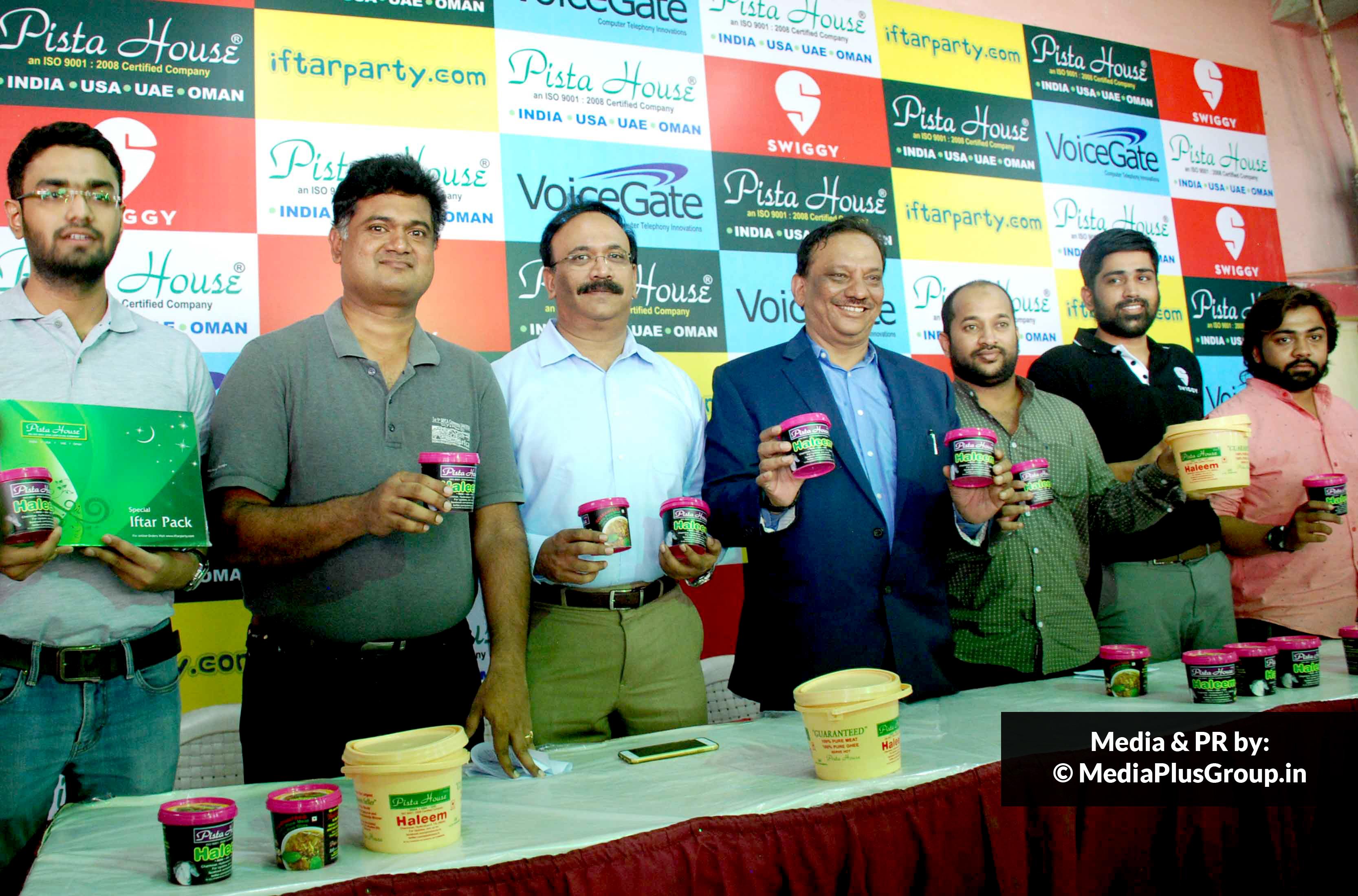 Press Conference, Pista House Press Conference Hyderabadi Haleem